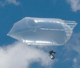 簡易空撮気球「ひばりは見た!」